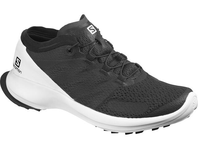 Salomon Sense Flow Shoes Herre black/white/black